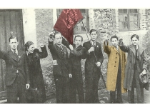 חברי איגוד הספרים בצ'נסטוחובה, פולין, שנות השלושים של המאה העשרים. זכויות: איוו, ניו יורק